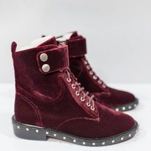 Vince Camuto Talorini Velvet Studded Boot